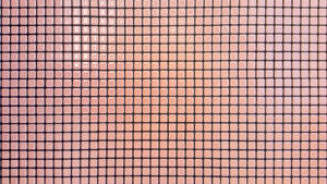 Red squares surface wall