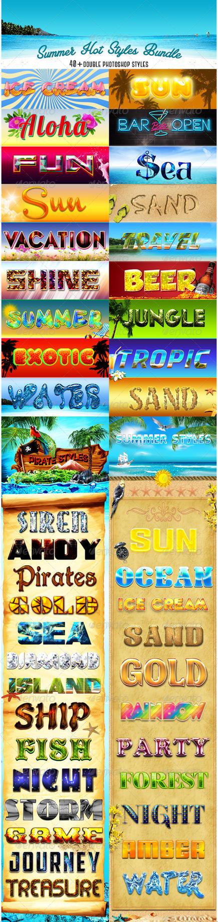 Summer Hot Styles Bundle by sarthony