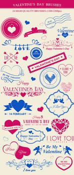 Valentines Day Brushes