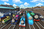 The Great Railway Team