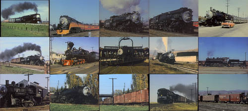 Southern Pacific Steam Anthology