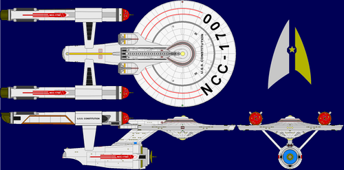 Star Trek: 4 Realz: Constitution-class