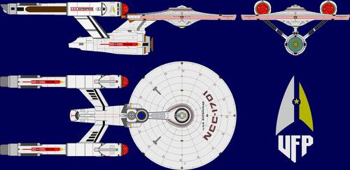 ST:4R: U.S.S. Enterprise NCC-1701