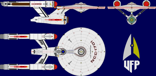 ST:4R: U.S.S. Enterprise NCC-1701
