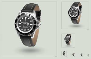 Rolex Submariner icon by hbielen