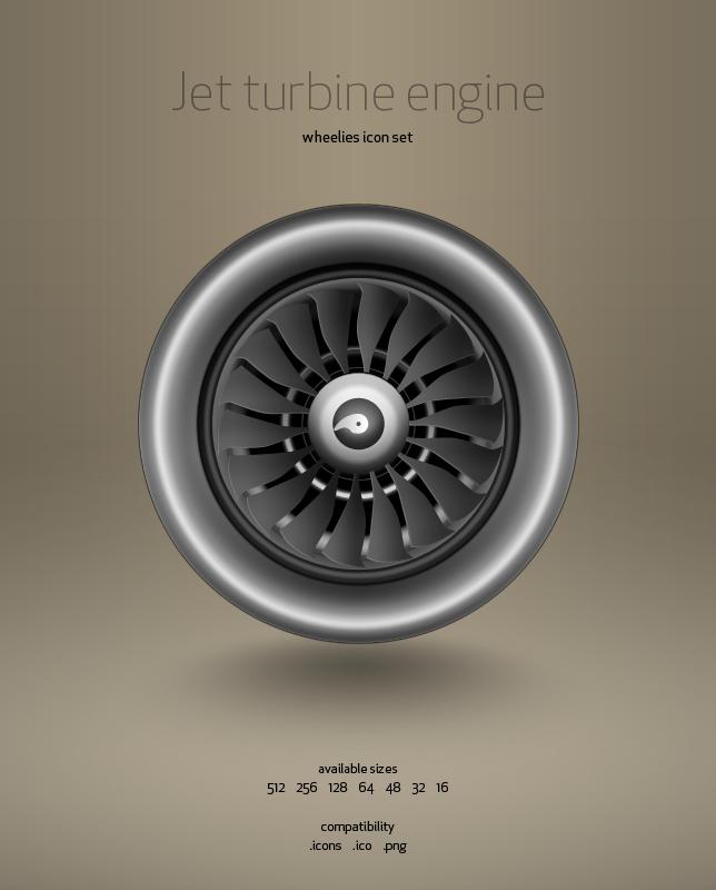 Jet Engine Turbine by hbielen