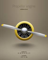 Propeller Engine icon by hbielen