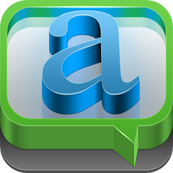 Chat app icon by hbielen