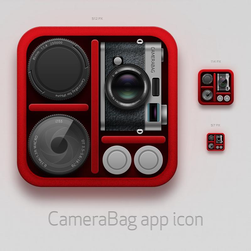 CameraBag icon by hbielen