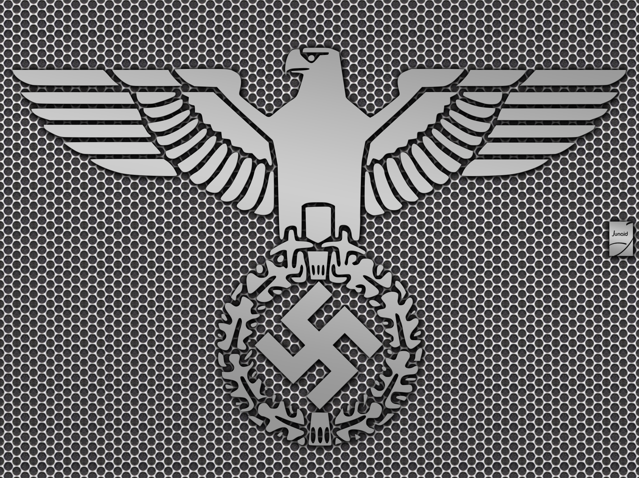 Nazi eagle desktop background by knikkerkoing on deviantart stronghold nazi by junaid saeed biocorpaavc
