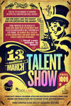 poster for talent show