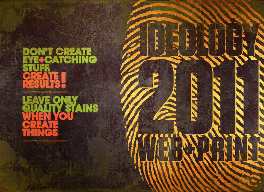 ideology 2011 poster by sounddecor