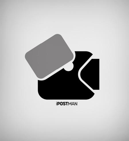 ipostman logo by sounddecor