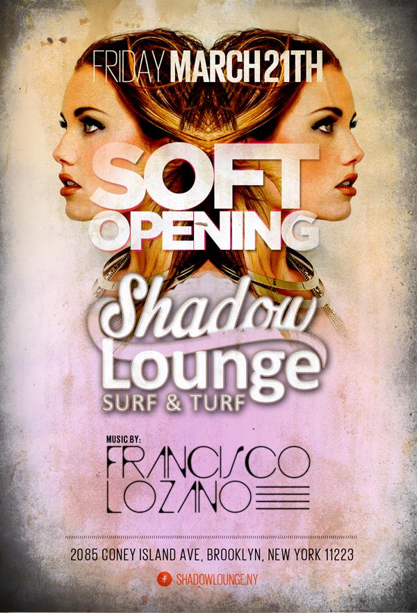 Flyer Shadowlounge Fri Marc by sounddecor