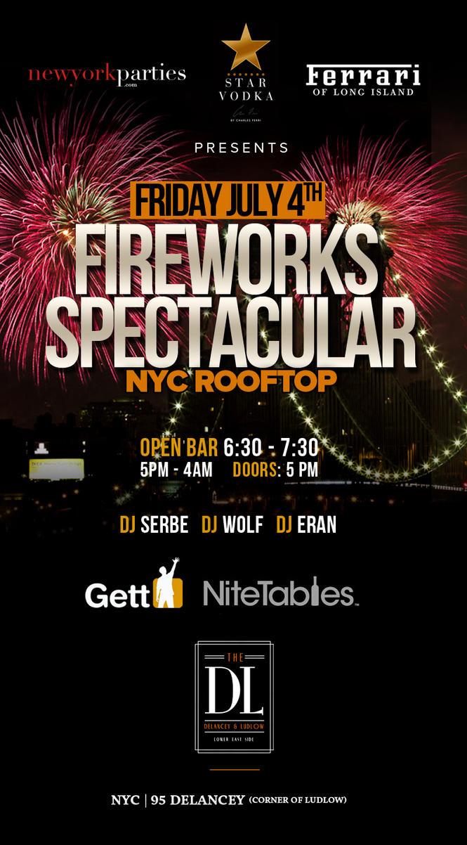 Flyer Fireworks by sounddecor