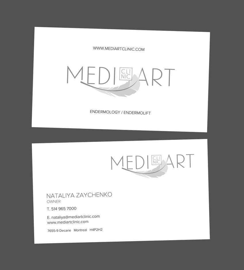 MEDIART CLINIC LOGO + ID by sounddecor