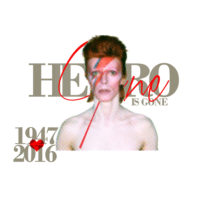 david bowie tribute rip by sounddecor
