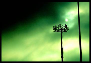 Emerald Sky by Moses-B-Weatherworth