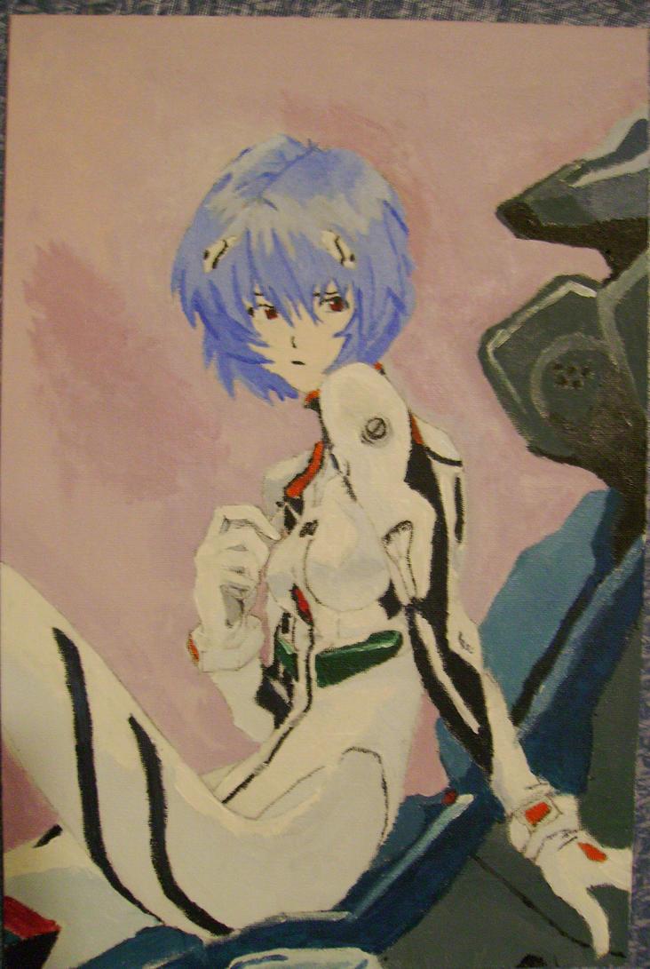 Ayanami Rei by hastegaSun