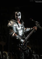 Gene Simmons, Graspop by xxRockPrincess