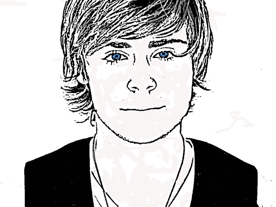 zac efron coloring pages print - photo #4