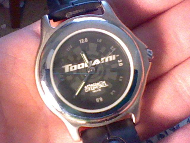 Toonami wrist watch by spaceman022 on deviantart for Minimal art wrist watch