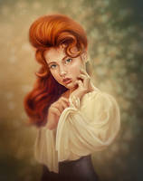 Redhead by Vaellie