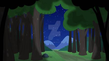 Artemisa Background - Forest 01 (Night)