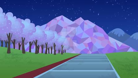 Artemisa Background - Park 01 (Night)