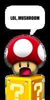Oh Noes Mushroom