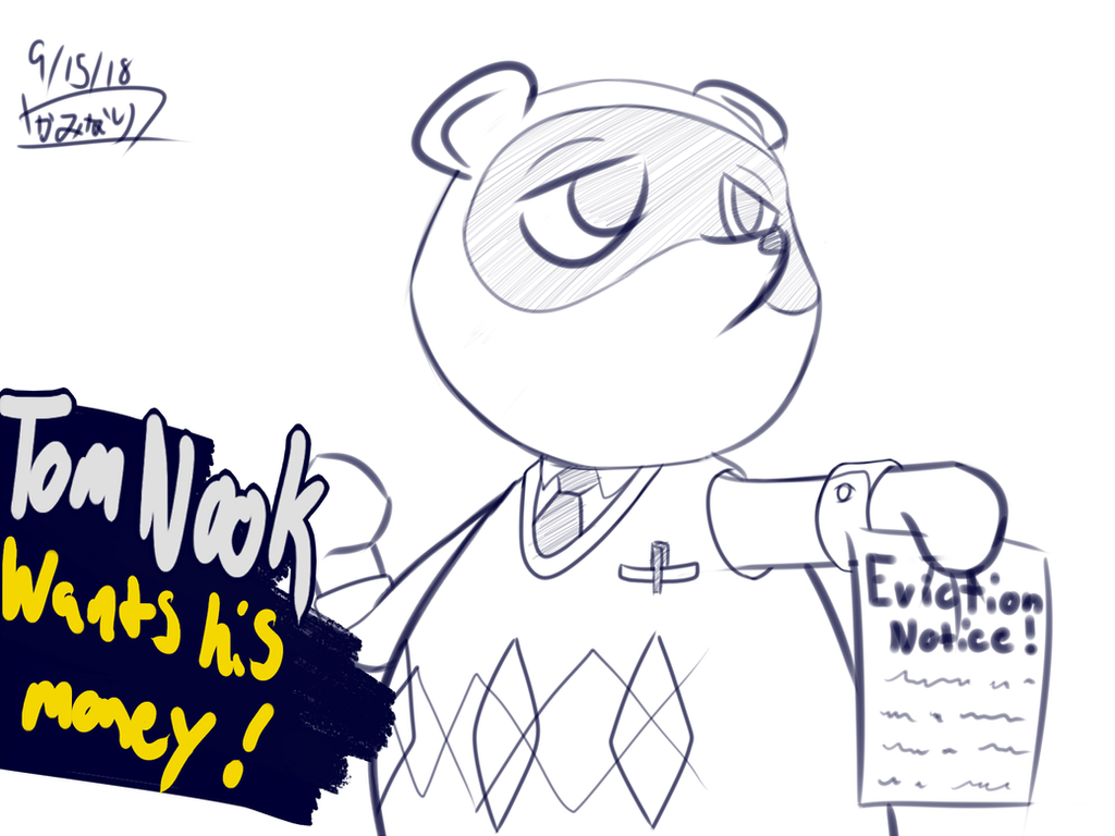 Tom Nook for Sma5h by TheThunderPony