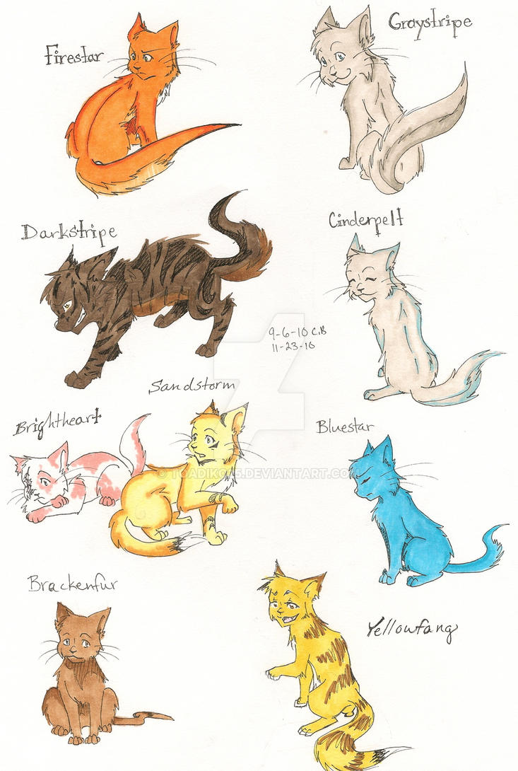 Warriors Cats Pictures Color