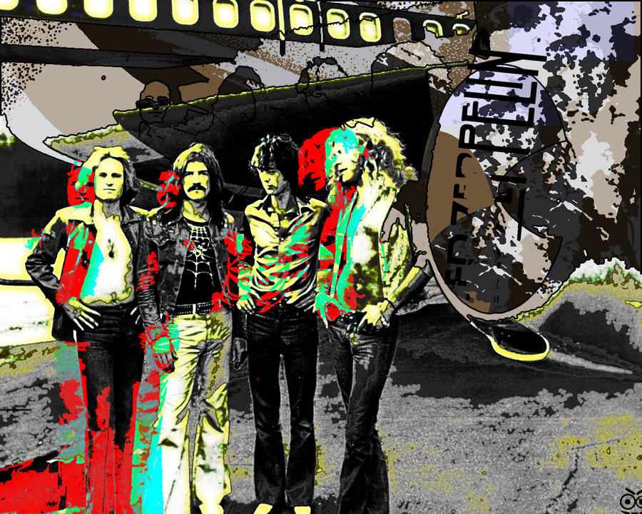 Led Zeppelin by Deranged-Crazy