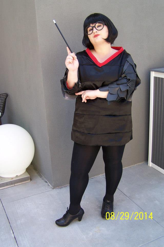 how to make edna mode costume