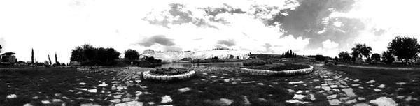 Panoramic Pamukkale by belial666