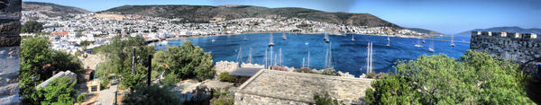 Bodrum Panorama HDR by belial666