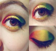 She's like a rainbow