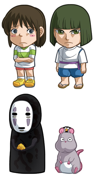 Spirited Away Sets 1 And 2 By Cosplayscramble On Deviantart