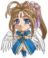 Aah My Goddess: Belldandy by cosplayscramble