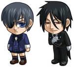 Black Butler: Ciel, Sebastian