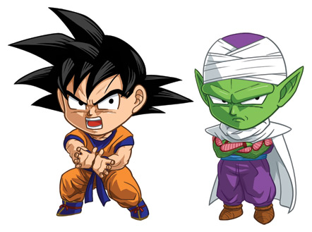 DBZ Set 1: Goku and Piccolo by cosplayscramble