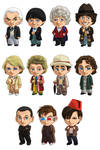 Doctor Who: all the Doctors!