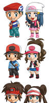 Pokemon Player Characters Batch 1
