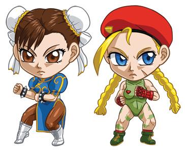 Street Fighter Set 2: Chun Li, Cammy by cosplayscramble