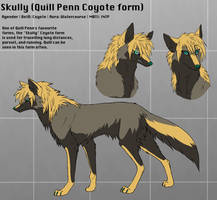 Skully Coyote (Quill Penn Coyote form)