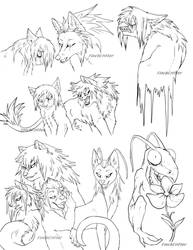 Lineart Sketches!