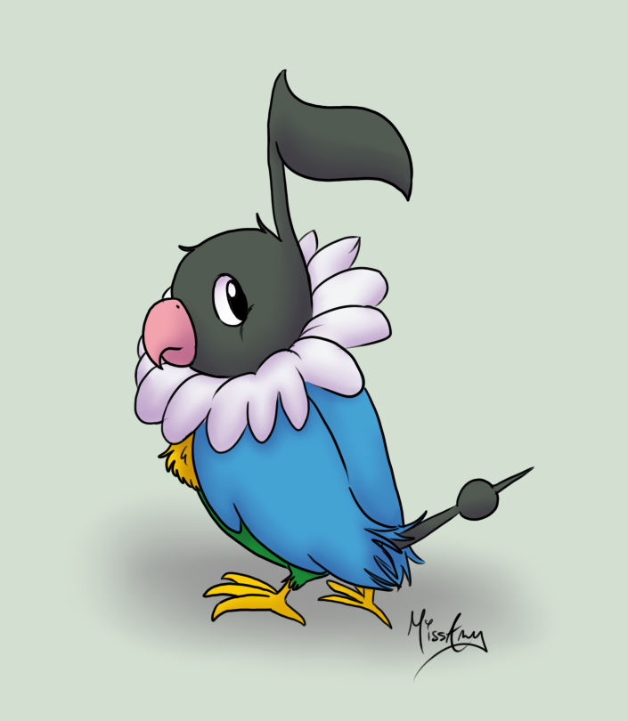 Chatot Images | Pokemon Images