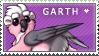 Garth Stamp by MizAmy