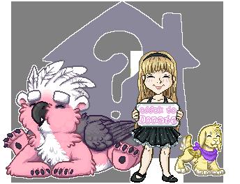 House Button by MizAmy