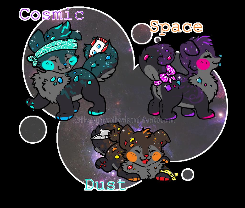 Cosmic Space Dust by MizAmy